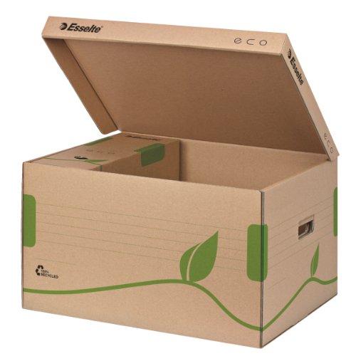 Características de las cajas ordenación de cartón