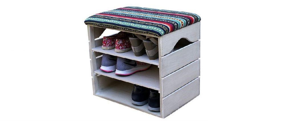 Caja decorada de alta calidad para zapatos