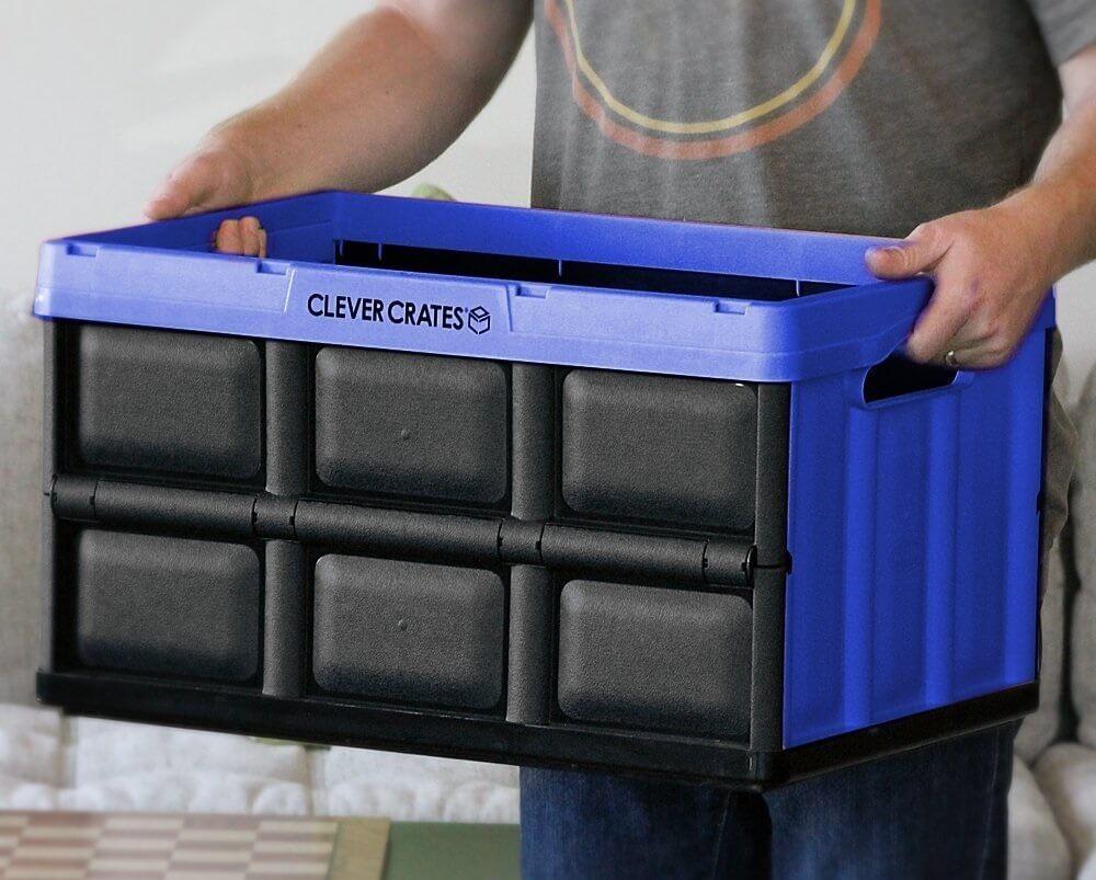 Características de las cajas organizadoras plásticas plegables