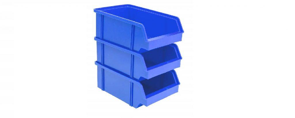 Qué son las cajas plásticas organizadoras apilables